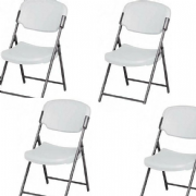 Trestle Folding Chair (Pack of 4)